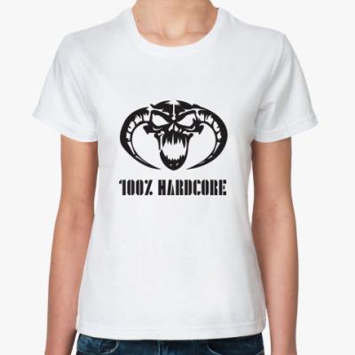 Классическая футболка 100% Hardcore