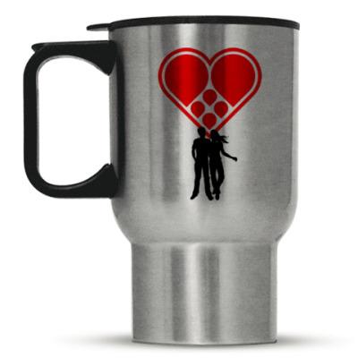 Кружка-термос Любовная пара