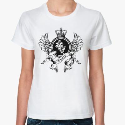 Классическая футболка Queen