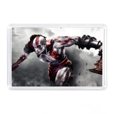 Магнит God of War Kratos