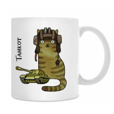 кот Танкот из серии 'Military cats'