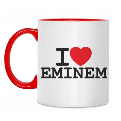 Кружка I love Eminem