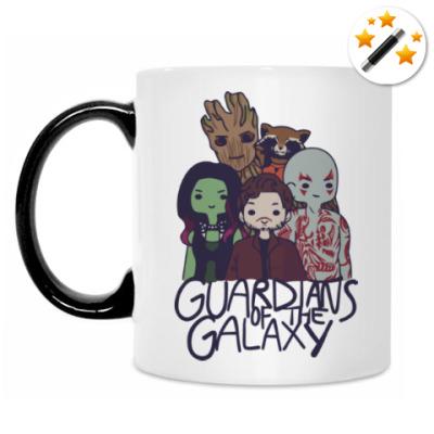 Кружка-хамелеон Стражи галактики