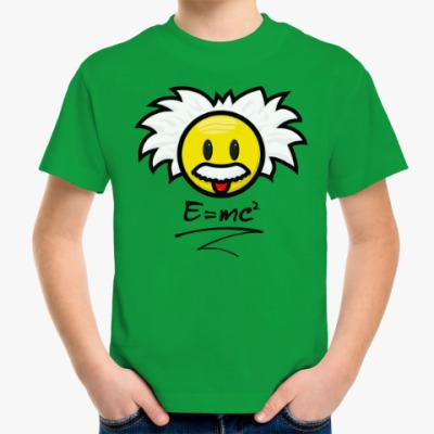 Детская футболка Эйнштейн