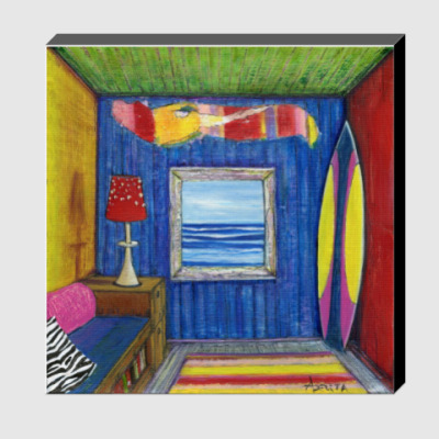 Холст Babelini's Room