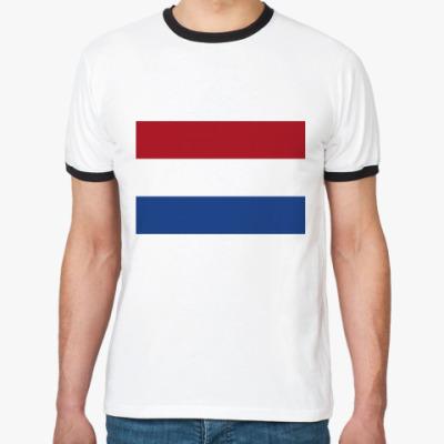 Футболка Ringer-T  Нидерланды