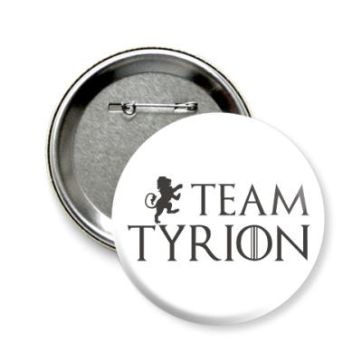 Значок 58мм Команда Тириона