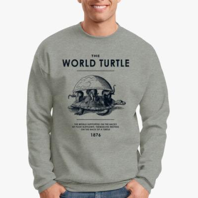 Свитшот  World Turtle