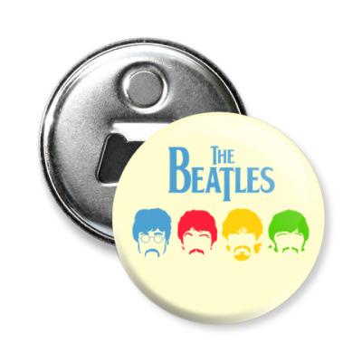 Магнит-открывашка Beatles
