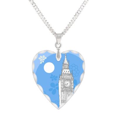 Кулон 'сердце' Лондон