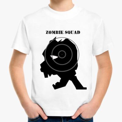 Детская футболка  zombie squad