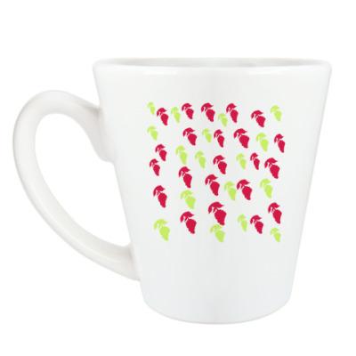 Чашка Латте 'Малина'