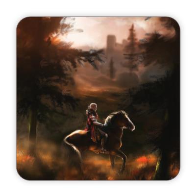 Костер (подставка под кружку) Dragon Age. Каллен