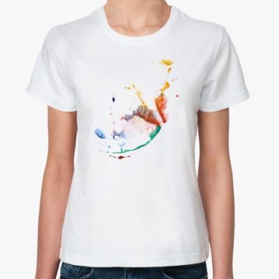 Классическая футболка «Цвет»