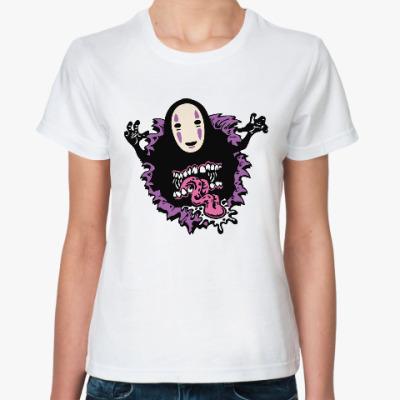 Классическая футболка Без Лица (Унесенные Призраками)