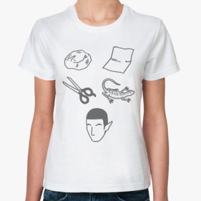 Классическая футболка Спок (Звездный Путь)
