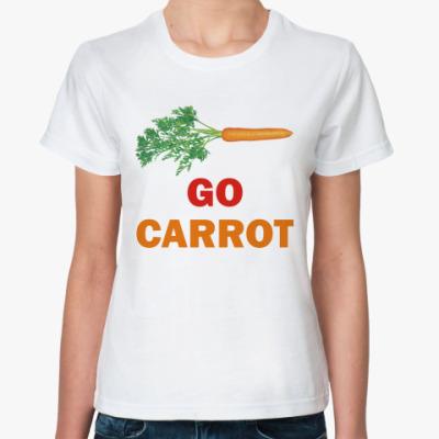 Классическая футболка Go carrot