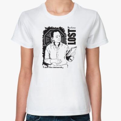 Классическая футболка  LOST Ben Linus