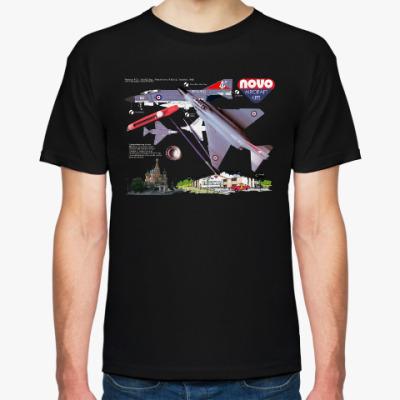 Футболка Мужская футболка NOVO (черная)
