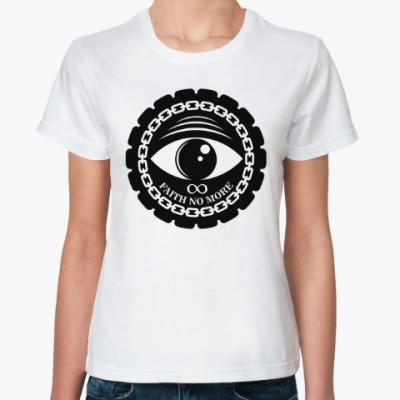Классическая футболка Faith no more