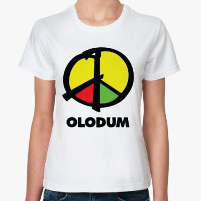 Классическая футболка Olodum