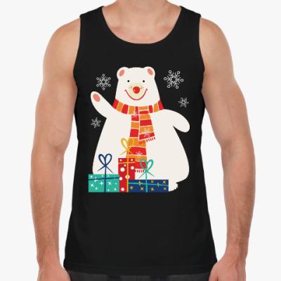 Майка Медведь с подарками