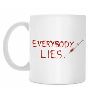 Кружка Everybody Lies