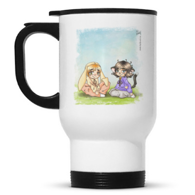 Кружка-термос Bunny&Neko