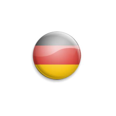 Значок 25мм Germany