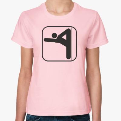 Женская футболка Пилон