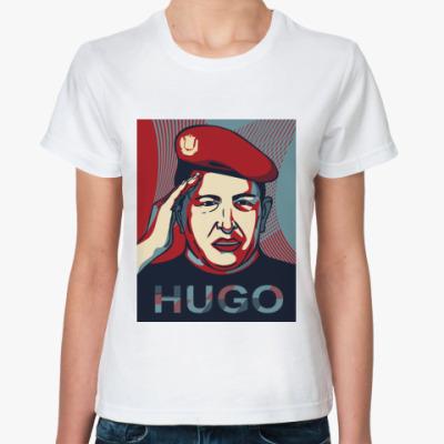 Классическая футболка Хуго Чавес