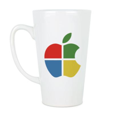 Чашка Латте Яблоко Виндоус
