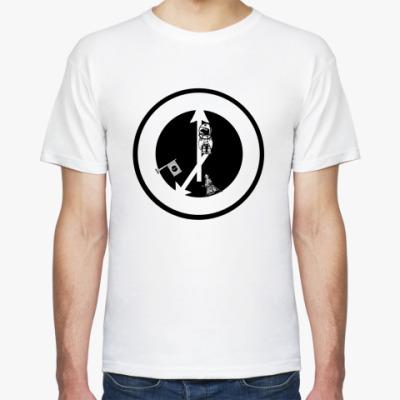 Футболка М. космическая  футболка