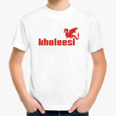 Детская футболка Дракон Кхалиси