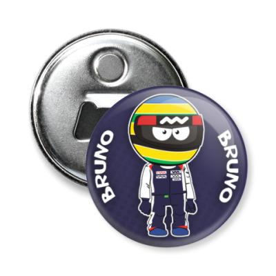 Магнит-открывашка Bruno