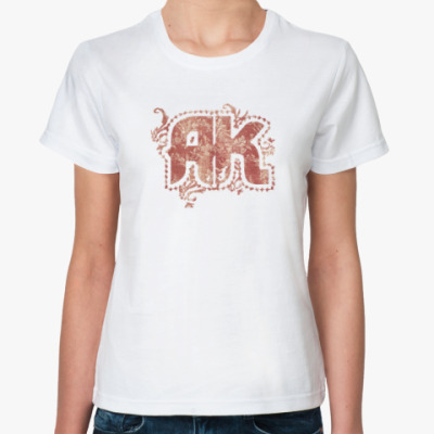 Классическая футболка 'AK in Vintage'