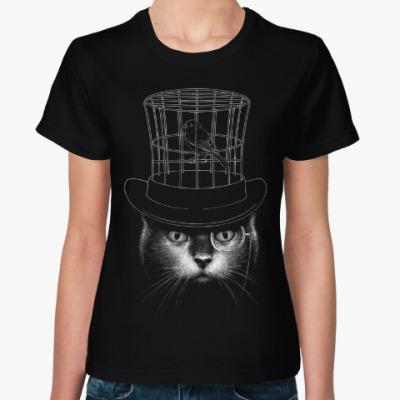 Женская футболка Джентльмен