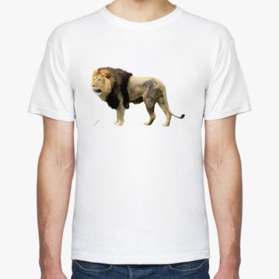 Футболка Татуированый лев