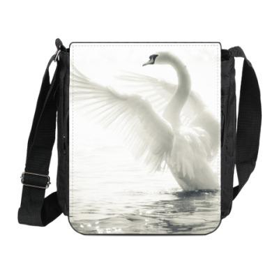 Сумка на плечо (мини-планшет) Лебедь