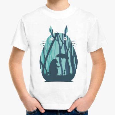 Детская футболка Амигуруми Тоторо Аниме