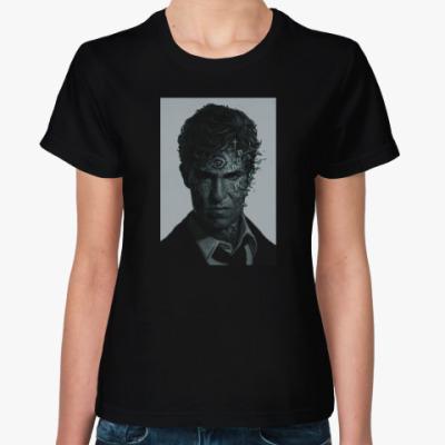 Женская футболка True Detective. Настоящий детектив.