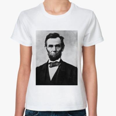 Классическая футболка Abraham Lincoln