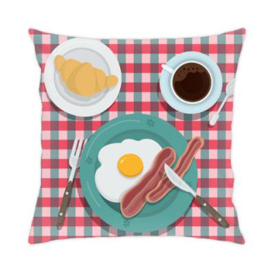 Подушка 'Завтрак в постель'