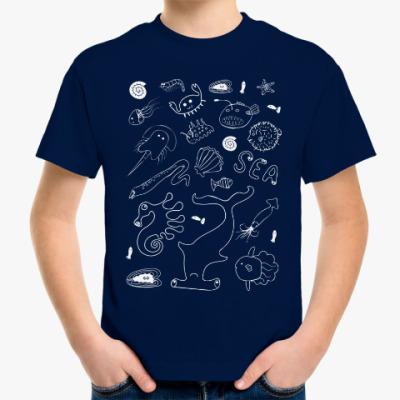 Детская футболка Море