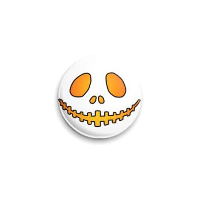 Значок 25мм Helloween Smile  25 мм