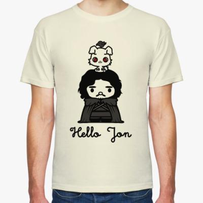 Футболка Hello Jon