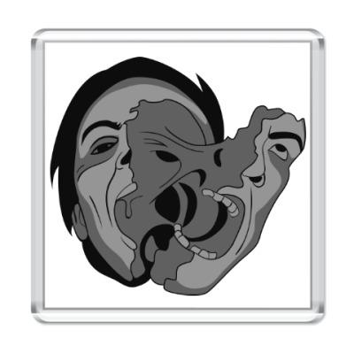 Магнит «Нечто» и мутация лица