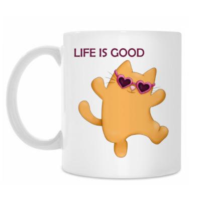 Кружка Позитивный котик