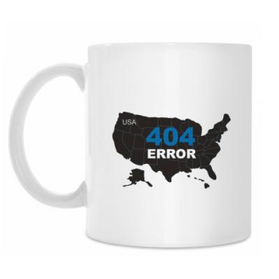Кружка Error 404