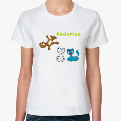 Классическая футболка Federico